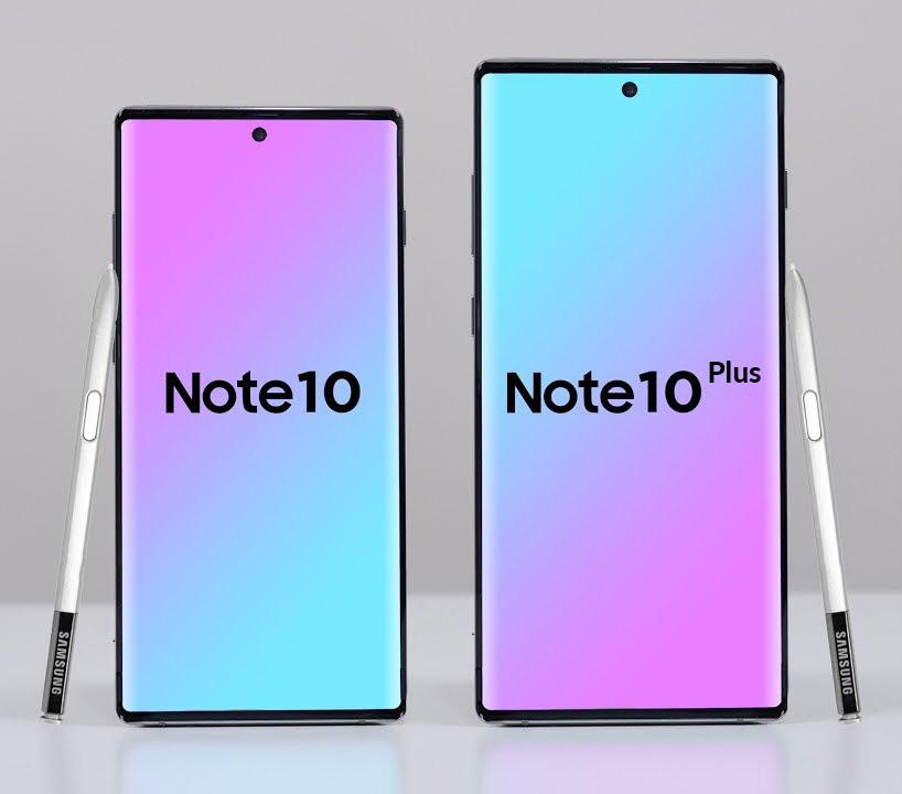 الفرق بين سامسونج نوت 10 و سامسونج نوت 10 بلس Samsung Galaxy Note 10 VS Samsung Galaxy Note 10 Plus